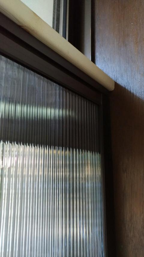 プラダンで二重窓
