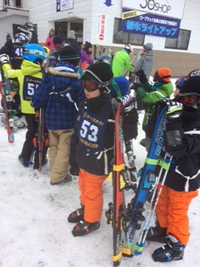 スキー訓練 2日目 2017/01/22 15:15:00