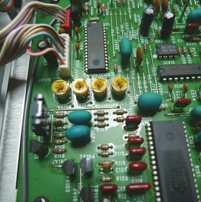 CDプレイヤー修理2