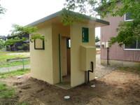 集落公園トイレ改修及びフェンス設置工事