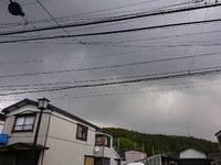 予定通りも雷はいらない(*_*)  さあ祭の朝!