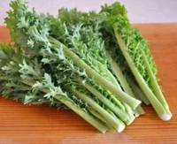 見た目はエグい。何のクセもないワサビ菜