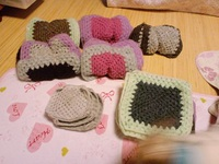 編み物・こたつカバー