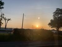 夕日がきれい〜〜(。◕∀◕。)ノ⋆。оO