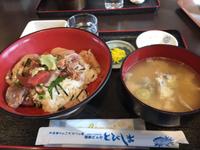 海鮮市場 飛島どんやさんの漬け丼(´∀`=)