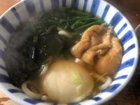 お昼はうどん(*゚▽゚*)