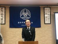 丸山至市長の講話(o˘◡˘o)