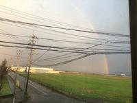 虹が6時に出た☀ (▰∀◕)ノ㋔㋩㋵