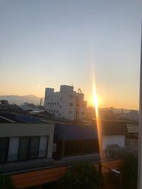 早朝散歩Uo-ェ-oU ポッ♪