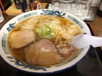 麺処あべさんで海老ワンタン麺❤(〃ʘ▿ʘ〃)