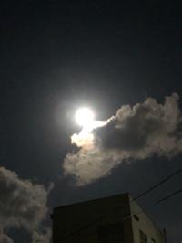 今年初の満月ヽ(^◇^*)/ ワーイ