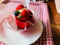 菊池さんの季節限定ケーキ(*゚▽゚*)