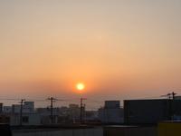 朝日のパワーと酒田祭り╰(*´︶`*)╯♡