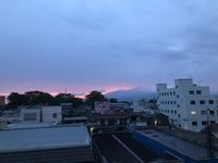 燃える鳥海山(▰˘◡˘▰)