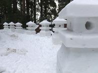 金峰山雪灯籠まつり