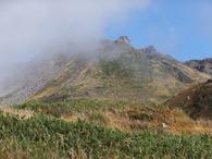秋の鳥海山