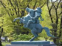 初夏の霞城公園