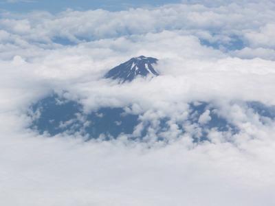 富士山と蔵王