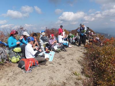 摩耶山 秋の登山会