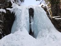 二の滝氷柱探勝