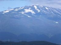 鳥海山「初冠雪」