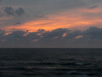 黄昏「日本海」