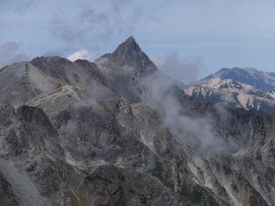 北アルプス「奥穂高岳」