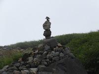 鳥海山「ケルン」