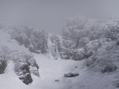 雪山「鳥海山」