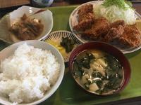 『チキンカツ定食600円』