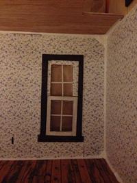 壁紙、床、張り合わせまで〜【ドールハウス】
