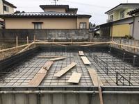 新築工事  K様邸  基礎配筋検査 2019/02/20 06:20:00