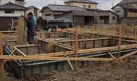 新築工事  高見台K様邸  基礎コンクリート打設② 2019/02/27 06:07:00