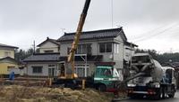 新築工事  高見台K様邸  基礎コンクリート打設① 2019/02/25 06:05:00
