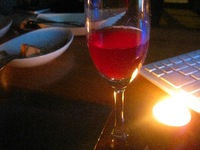 南陽市 紫金園で手作り したワインをいただく 2010/01/12 07:56:14