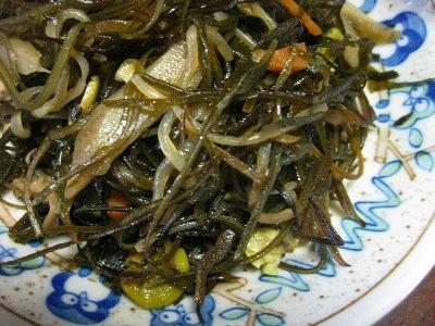山形県南陽市の正月料理「切り昆布煮」