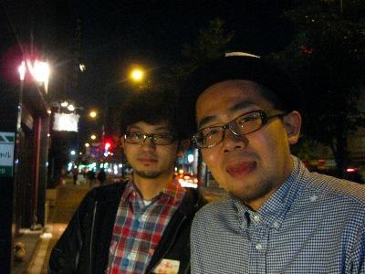 1回「山形ナイト」報告!!:アラカワ&ヨシノ新庄コンビ