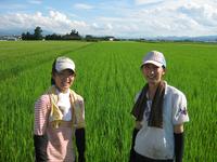高橋菜穂子さんの田んぼに遊びに行く 2009/09/09 15:15:33