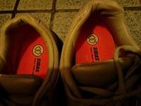 靴の中敷様。