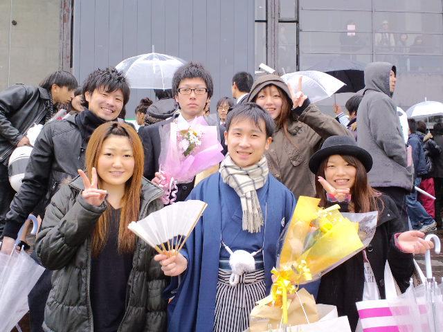 山形大学卒業式!