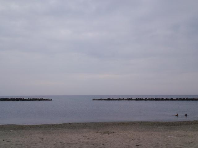海水浴☆in瀬波海岸