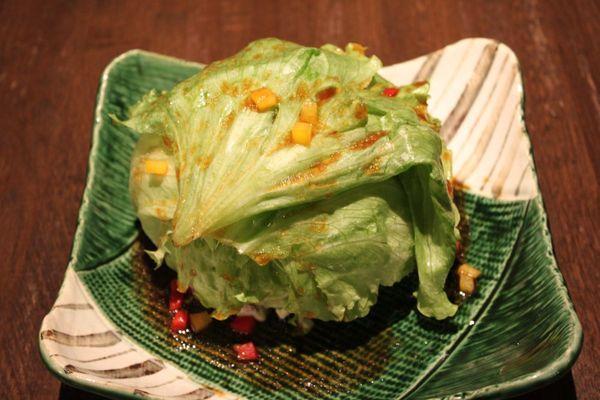 グリーンボールサラダ。