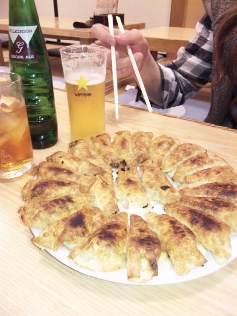 円盤餃子★!!