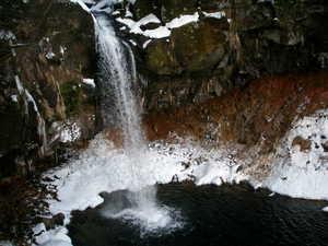鳥海山、「一の滝」