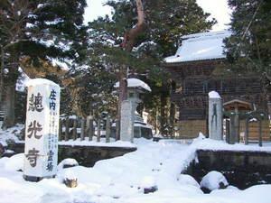 雪の總光寺