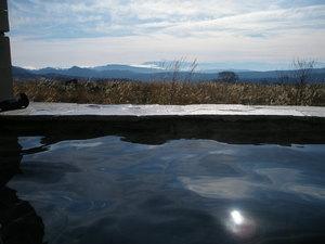 鳥海山荘、露天風呂
