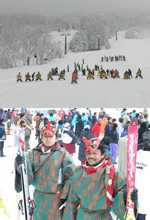 蔵王温泉スキー場開きでした