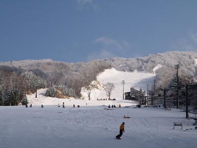 蔵王温泉スキー場へようこそ