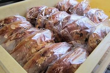 今日は、パンを仕込みと焼く日