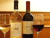 上手いワインとお肉が最高